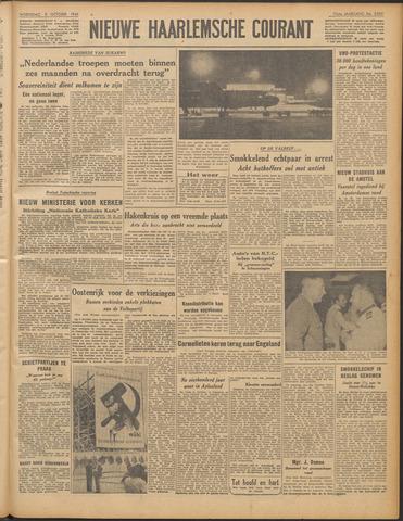 Nieuwe Haarlemsche Courant 1949-10-05