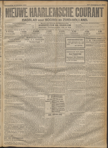 Nieuwe Haarlemsche Courant 1915-10-21