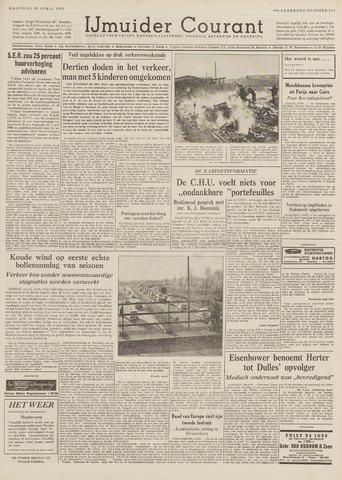IJmuider Courant 1959-04-20
