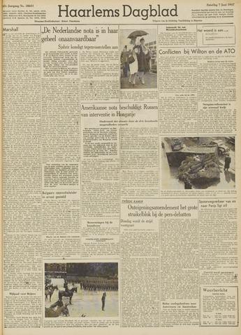 Haarlem's Dagblad 1947-06-07