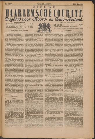 Nieuwe Haarlemsche Courant 1899-04-25