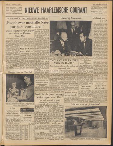 Nieuwe Haarlemsche Courant 1959-08-07