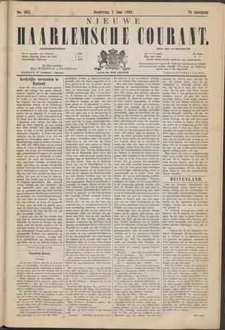 Nieuwe Haarlemsche Courant 1882-06-01