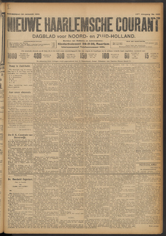 Nieuwe Haarlemsche Courant 1909-01-28