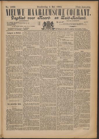 Nieuwe Haarlemsche Courant 1905-05-04