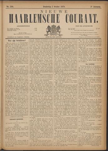 Nieuwe Haarlemsche Courant 1878-10-03