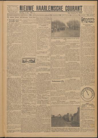 Nieuwe Haarlemsche Courant 1925-11-03