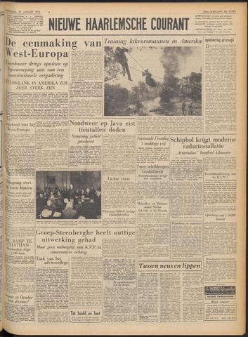 Nieuwe Haarlemsche Courant 1952-01-23