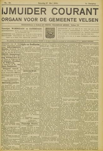 IJmuider Courant 1916-05-27