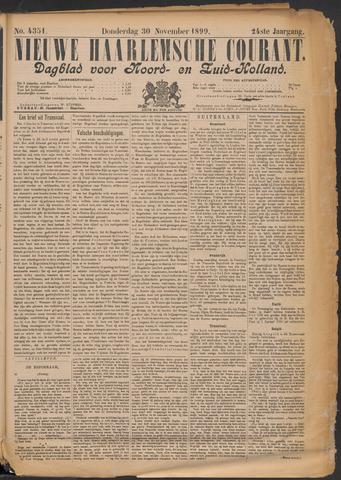 Nieuwe Haarlemsche Courant 1899-11-30