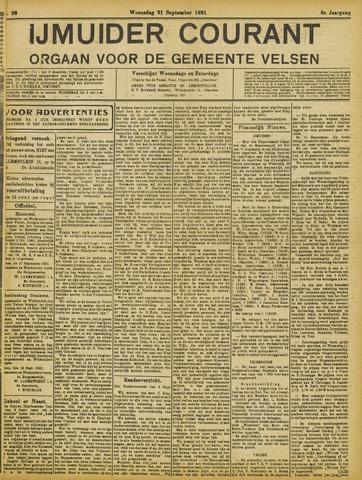IJmuider Courant 1921-09-21