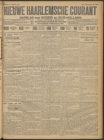 Nieuwe Haarlemsche Courant 1914-03-24