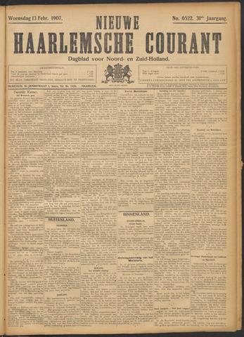 Nieuwe Haarlemsche Courant 1907-02-13