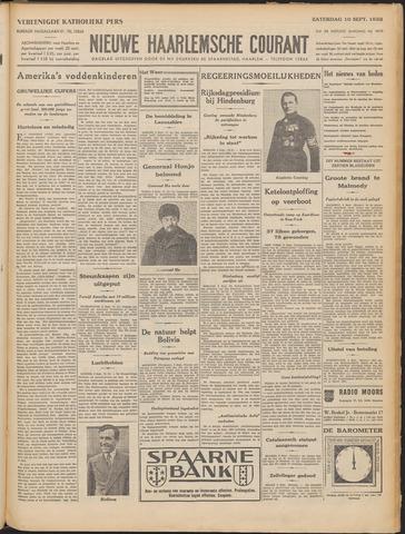 Nieuwe Haarlemsche Courant 1932-09-10