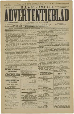 Haarlemsch Advertentieblad 1900-12-08