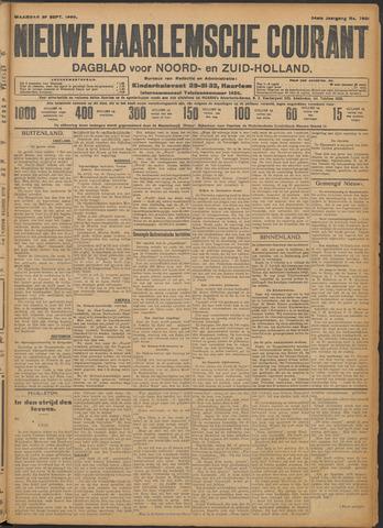 Nieuwe Haarlemsche Courant 1909-09-27