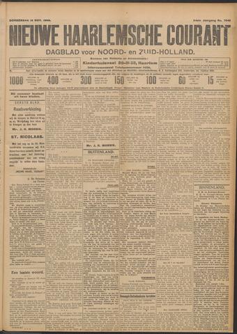 Nieuwe Haarlemsche Courant 1909-11-18