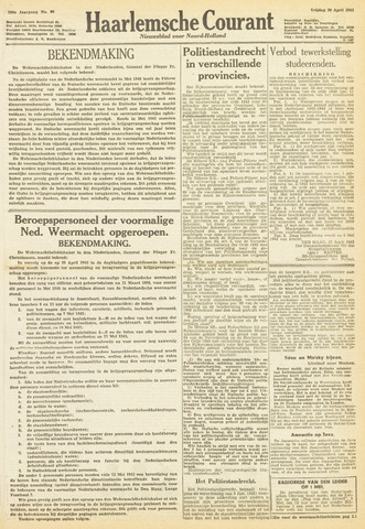 Haarlemsche Courant 1943-04-30