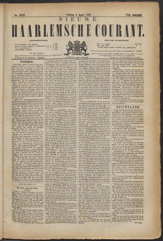 Nieuwe Haarlemsche Courant 1892-04-08
