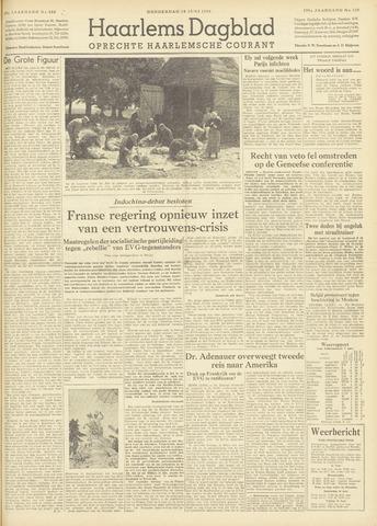 Haarlem's Dagblad 1954-06-10