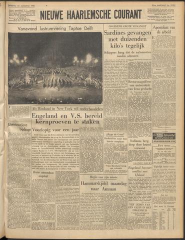 Nieuwe Haarlemsche Courant 1958-08-23