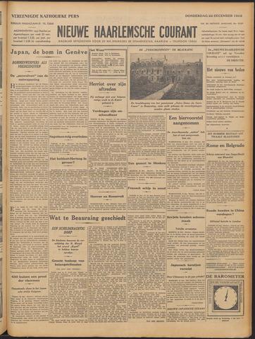 Nieuwe Haarlemsche Courant 1932-12-22