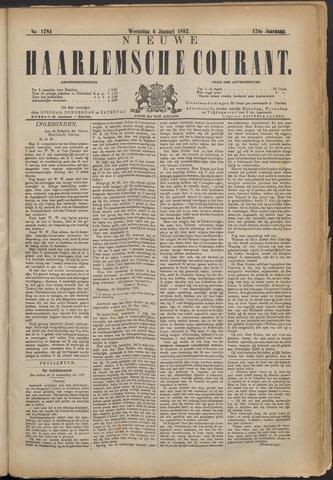 Nieuwe Haarlemsche Courant 1892-01-06