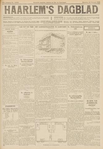 Haarlem's Dagblad 1926-02-22