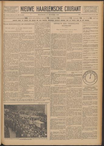 Nieuwe Haarlemsche Courant 1930-10-27