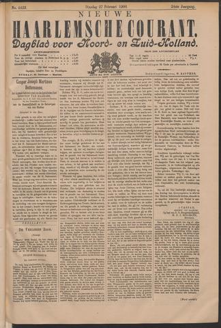 Nieuwe Haarlemsche Courant 1900-02-27