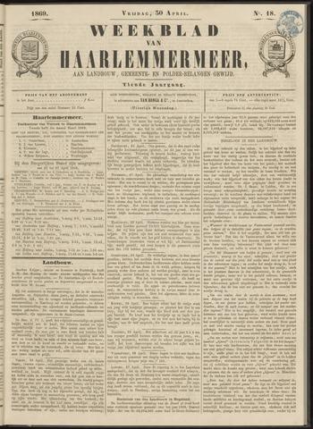 Weekblad van Haarlemmermeer 1869-04-30