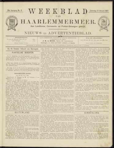 Weekblad van Haarlemmermeer 1887-02-05