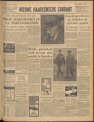 Nieuwe Haarlemsche Courant 1963-11-18