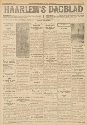 Haarlem's Dagblad 1926-01-20