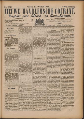 Nieuwe Haarlemsche Courant 1904-10-21