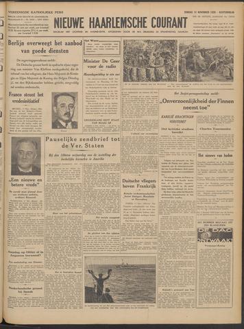 Nieuwe Haarlemsche Courant 1939-11-12