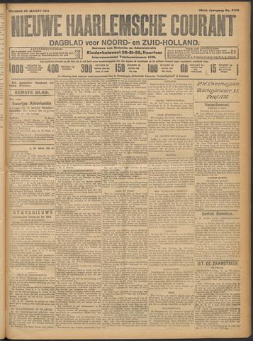 Nieuwe Haarlemsche Courant 1914-03-20
