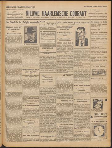 Nieuwe Haarlemsche Courant 1932-10-17