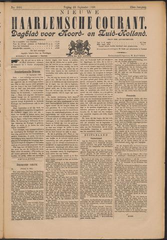 Nieuwe Haarlemsche Courant 1898-09-23