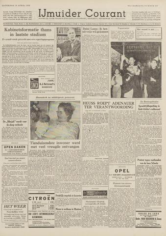 IJmuider Courant 1959-04-18