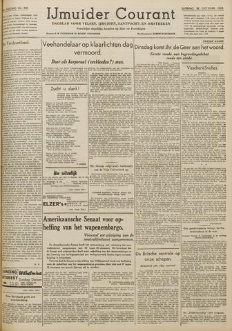 IJmuider Courant 1939-10-28