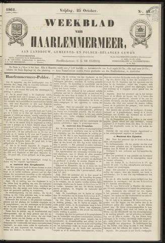 Weekblad van Haarlemmermeer 1861-10-25