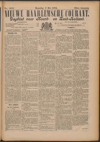 Nieuwe Haarlemsche Courant 1904-05-09