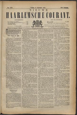 Nieuwe Haarlemsche Courant 1891-09-11