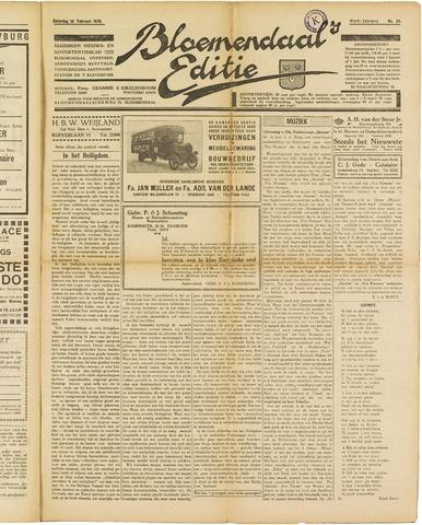 Bloemendaal's Editie 1929-02-19