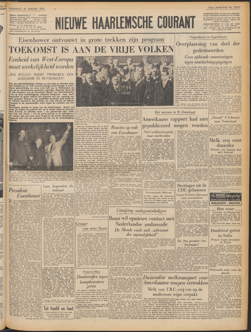 Nieuwe Haarlemsche Courant 1953-01-21