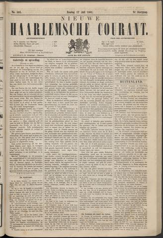 Nieuwe Haarlemsche Courant 1881-07-17