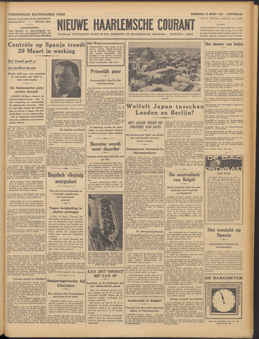 Nieuwe Haarlemsche Courant 1937-03-25