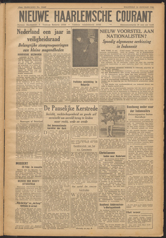Nieuwe Haarlemsche Courant 1946-01-14