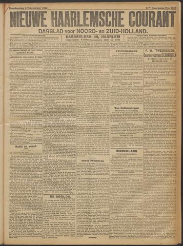 Nieuwe Haarlemsche Courant 1916-11-09